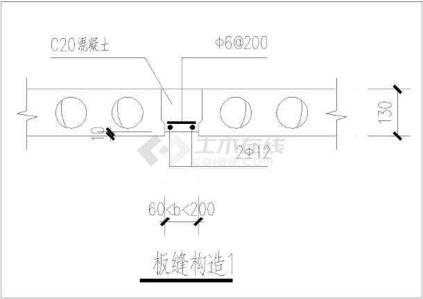 砖混结构工程构造节点整套CAD大样图纸-图3