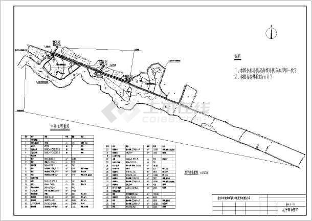 滨水工程湿地环保设计图-图二