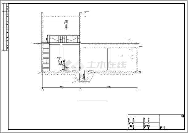 给水泵站设计_【设计施工图】某地水泵房给水排水工程设计施工图纸_cad图纸 ...
