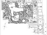 沧浪亭狮子林怡园拙政园的景观规划总平面图图片2