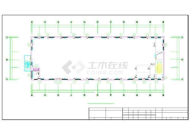 【哈尔滨】某药业公司仓库采暖图纸-图二