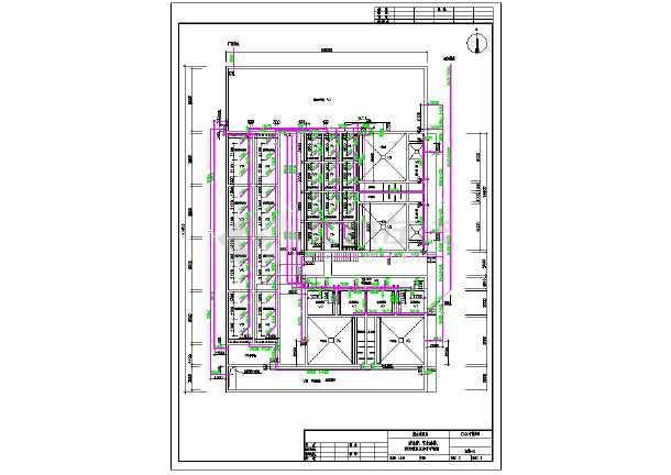 某厂废水处理及中水回用工艺施工图-图2
