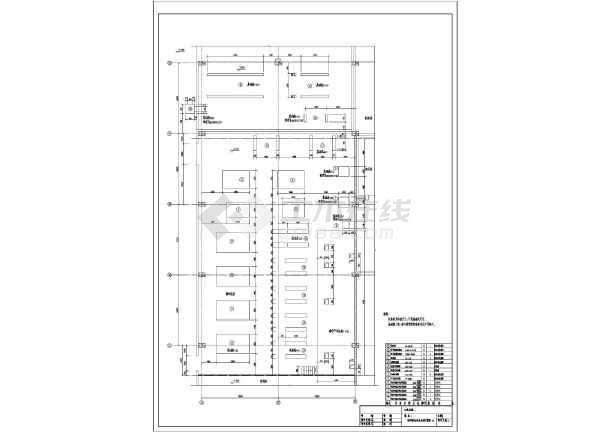 螺杆液氨冷却压缩机氨制冷冷库设计竣工图-图1