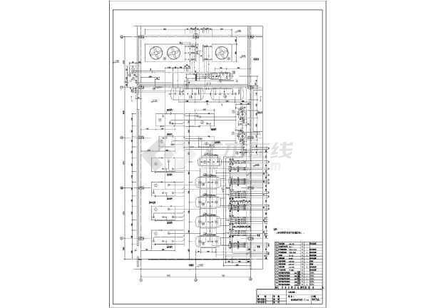 螺杆液氨冷却压缩机氨制冷冷库设计竣工图-图3