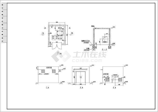 【徐州】某地工厂全套废气处理施工图-图1