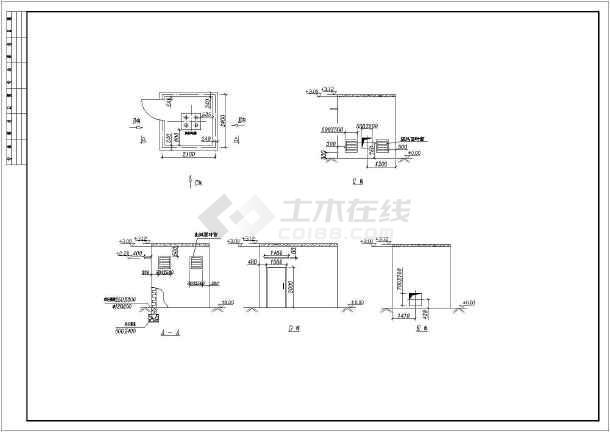 【徐州】某地工厂全套废气处理施工图-图2