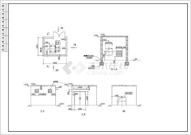 【徐州】某地工厂全套废气处理施工图-图3