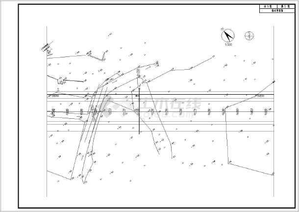 点击查看道路市政工程给排水及管综设计施工图第2张大图