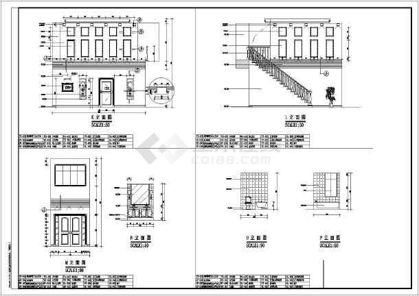 【重庆】某地别墅装修设计竣工图纸-图1
