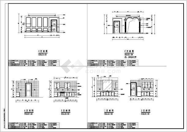【重庆】某地别墅装修设计竣工图纸-图3