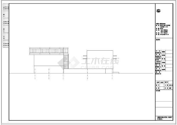 【山西】某工业生产废水处理施工图-图2