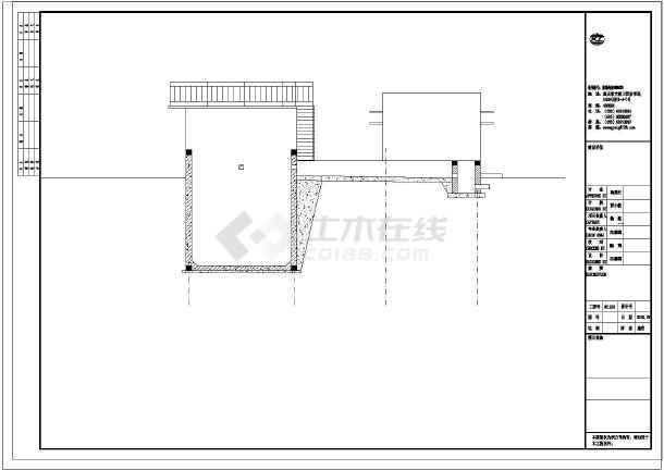 【山西】某工业生产废水处理施工图-图3