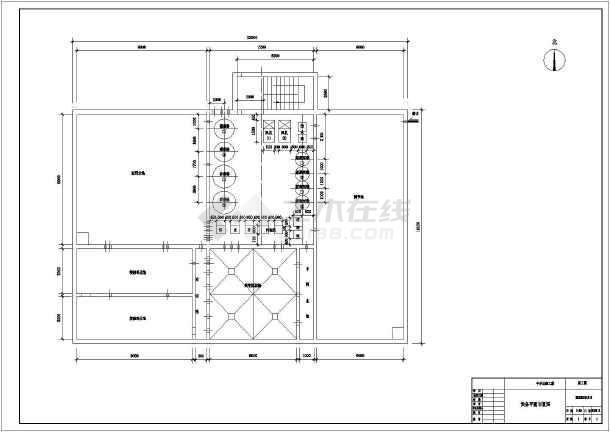 某设计院某学校800方每天中水回用系统设计图-图1