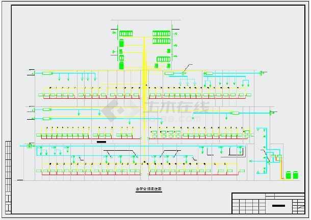 【成都】某会所暖通初步设计施工图纸-图1