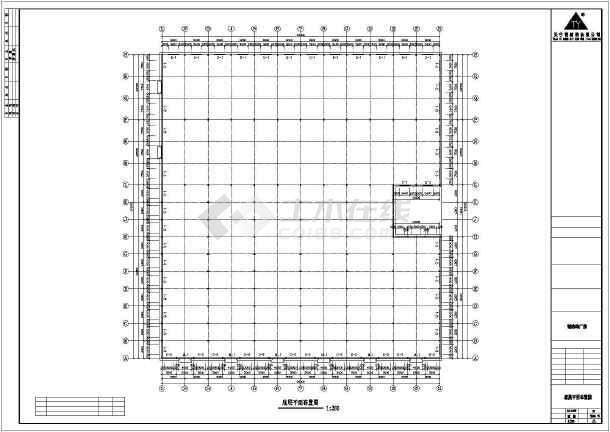 【南京】某石材公司钢结构工程CAD(共11张)-图1