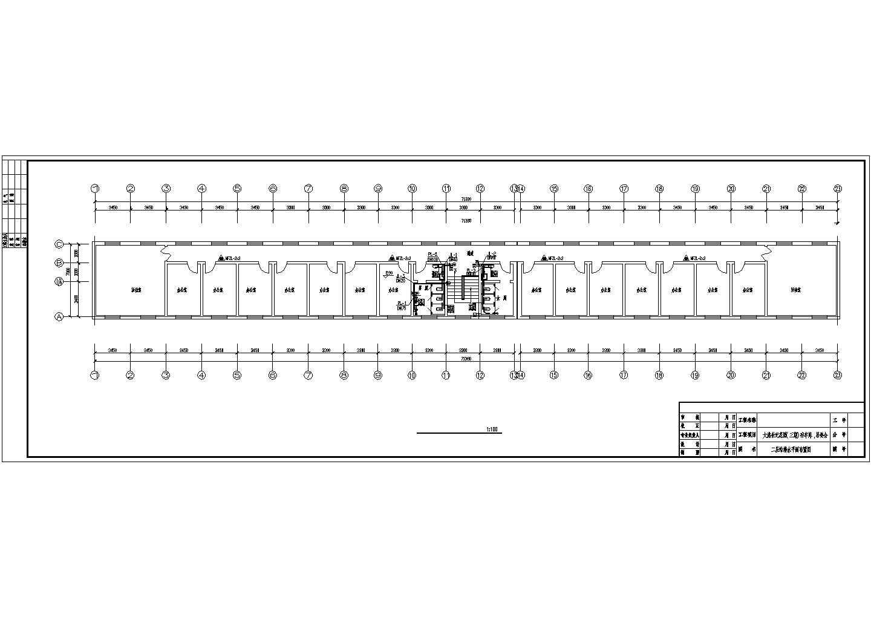 大港居委会排水管道系统设计布置图纸图片1