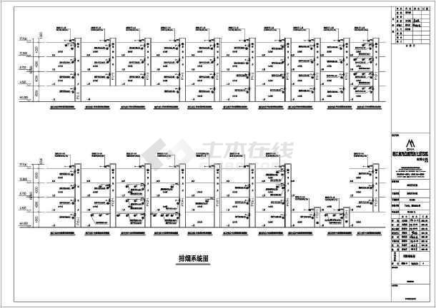 点击查看漳州市正兴医院门诊暖通空调设计图纸第2张大图