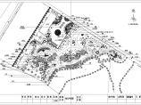 某地公园植物配置园林设计平面图纸图片1