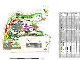 山体公园植物配置cad图(标注齐全)图片1