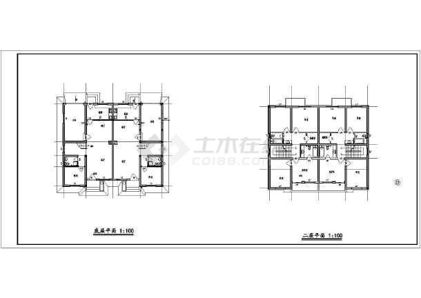 某别墅的方案建筑方案图(共6张)-图2