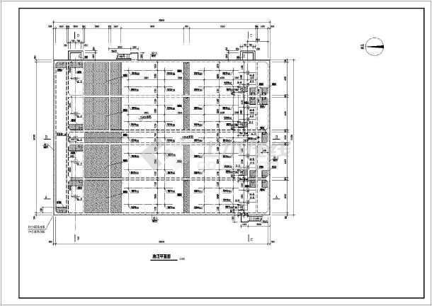 点击查看平流式沉淀池工业废水处理构筑物全图第1张大图