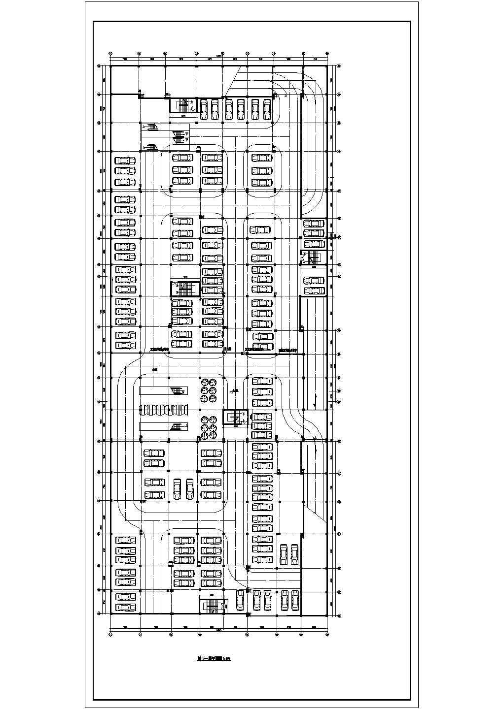 某商场及地下停车场建筑设计图(共9张)图片1