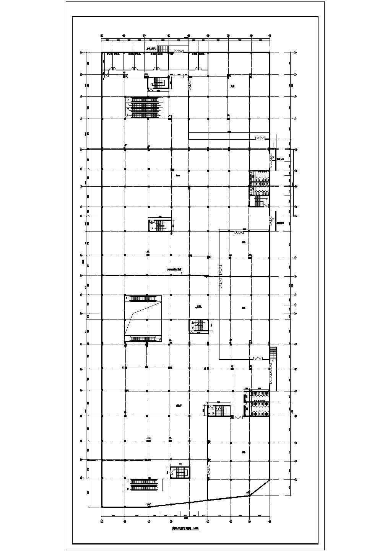 某商场及地下停车场建筑设计图(共9张)图片3