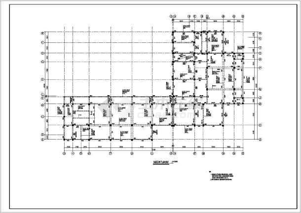 某蜂巢芯肋梁楼盖结构施工图(共15张)-图3
