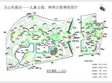 某地风景区儿童公园园林设计施工图纸图片1