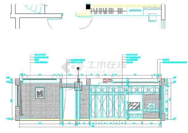 某别墅欧式风格装修设计图纸-图1