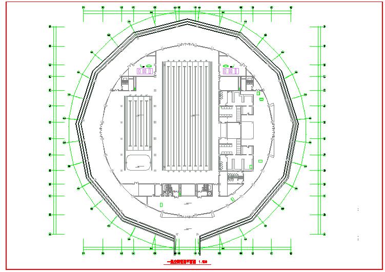 【山东】多层体育馆暖通空调及防排烟系统初设图图片2