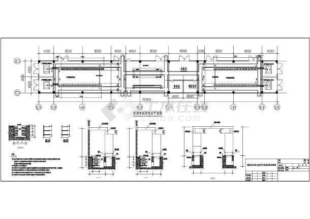 重钢环保搬迁工程配混车间变电所电气施工图-图二