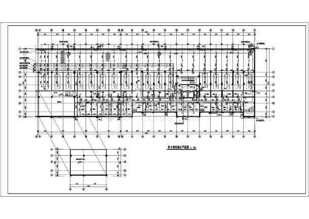某二十一层带地下室住宅楼给排水施工图图片