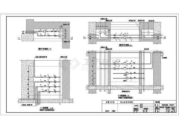 某十一层住宅采暖图(散热器)-图二