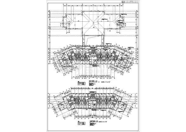 某宾馆的详细建筑方案图纸(共5张)-图1