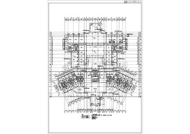 某宾馆的详细建筑方案图纸(共5张)-图3