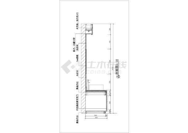 家庭卫生间装修设计节点详图(共2张)-图二