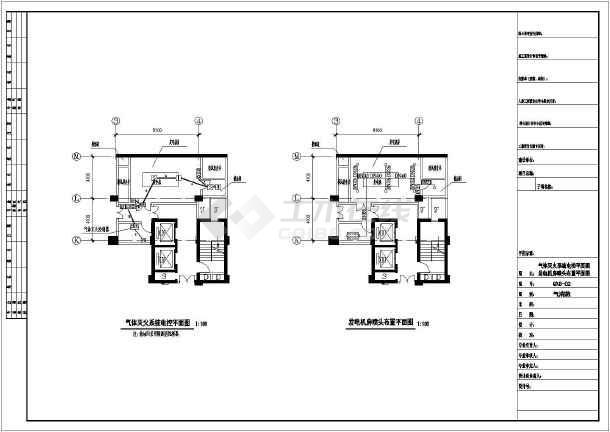 发电机房设计图_[气体灭火系统]某地发电机房二氧化碳气体灭火系统设计图 - 土木 ...