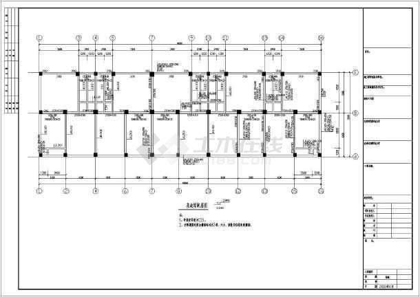 钻桩的原理_某电子厂主厂房扩建二期工程结构施工图,包括结构总说明、钢筋混凝土梁配筋平法表示说明、桩位平面图、钻孔灌注桩设计说明、柱定位图、