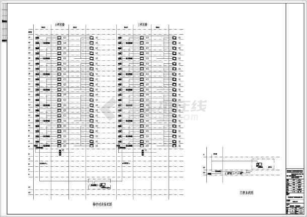 某商业建筑电气设计系统图-图二