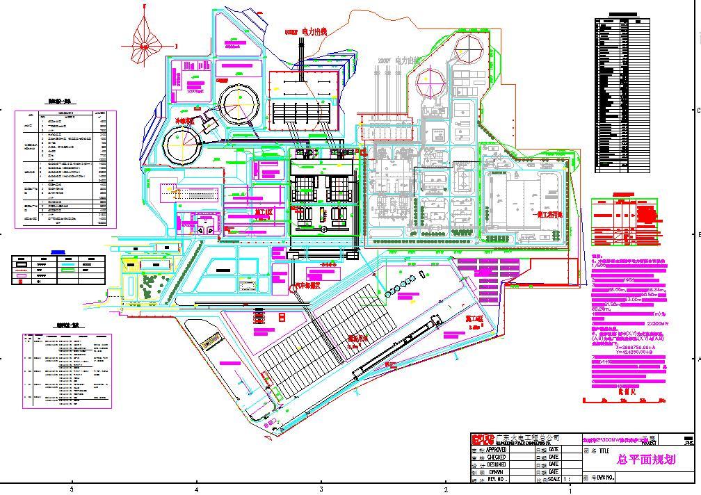 一张完整详细的电子厂房规划设计图纸(共计1张)图片1