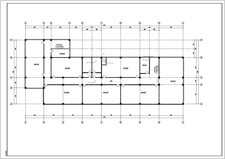 中央空调全套平面图及采暖系统图下载图片2