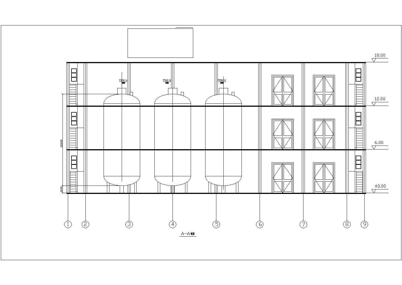 食品饮料厂发酵车间设备布置图(年产5000t)图片3