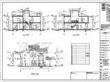 某轻型木结构别墅建筑设计施工图图片1