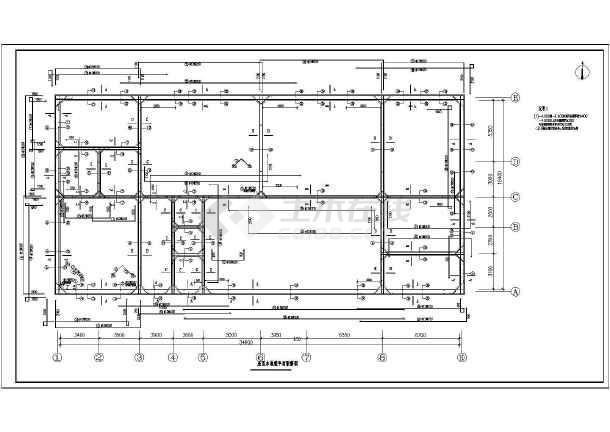 某大学MBR工艺中水回用系统工程设计图-图2