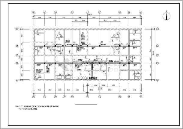 某大学MBR工艺中水回用系统工程设计图-图3