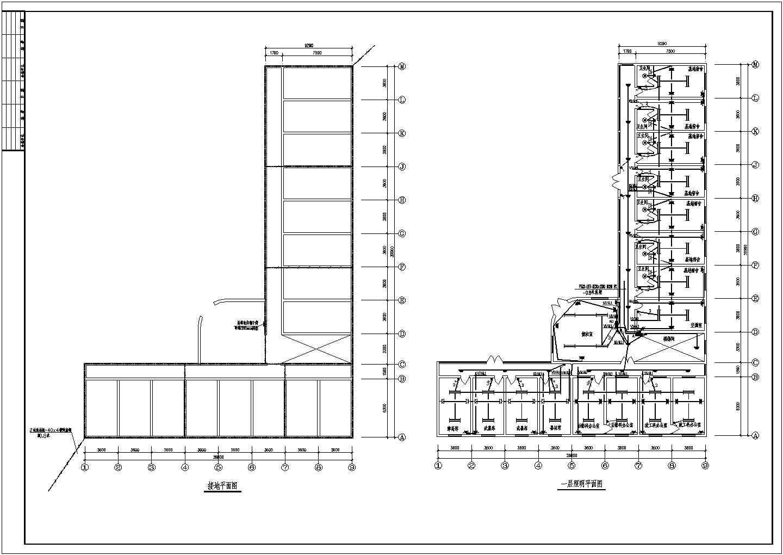 某地区大型办公楼电气图(含设计说明)图片1