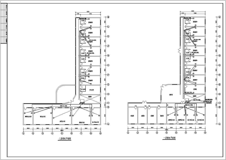 某地区大型办公楼电气图(含设计说明)图片2