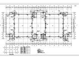某车辆管理所三层框架结构办公楼建筑方案图图片2
