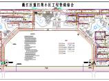 某地江苑小区室外管线综合平面图纸图片1